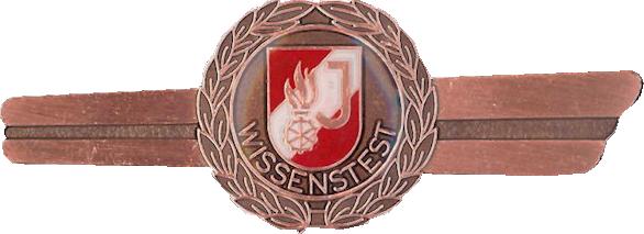 Feuerwehrjugend Wissenstest Bronze